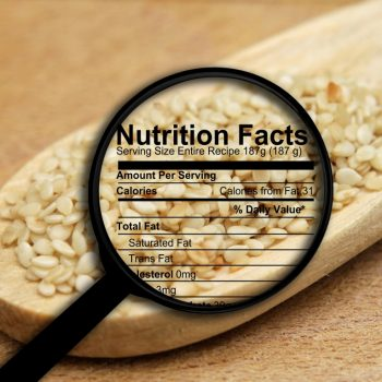 Why Nutrition Facts Matter